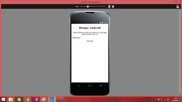 12. tampilan app sederhana
